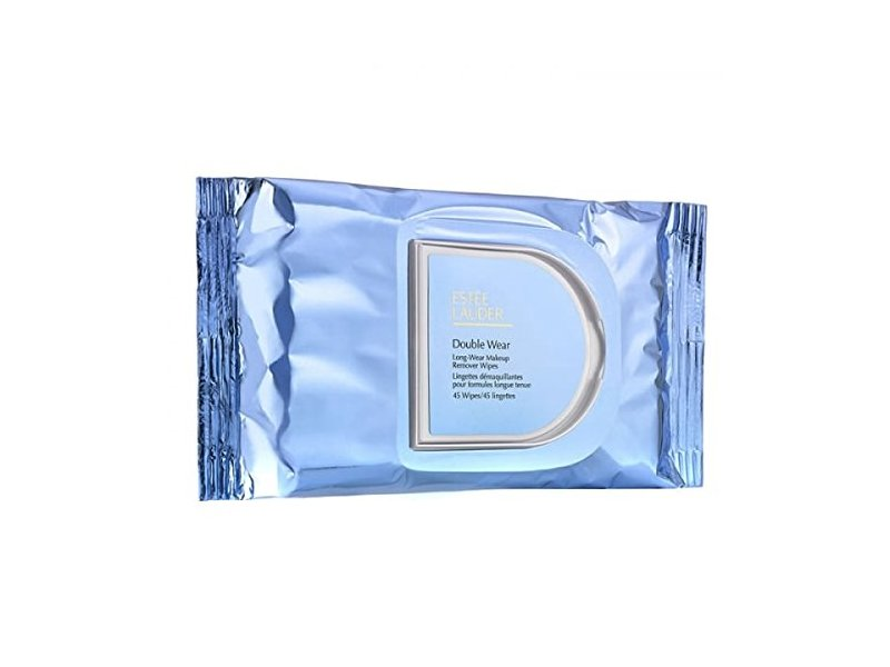 Estee Lauder Double Wear Long-Wear Makeup Remover Wipes, 45 ct
