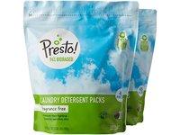 Presto! 94% Biobased Laundry Detergent Packs, Fragrance Free, 90 Loads (2-pack, 45 each) - Image 2