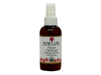 Honey Girl Organics Facial Cleanser & Makeup Remover Extra Sensitive