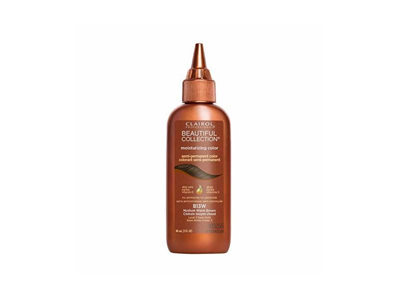 Clairol Beautiful Collection, 13W Medium Warm Brown, 3 oz