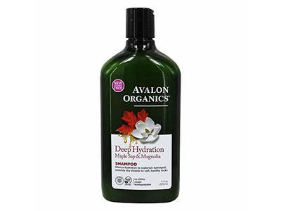 Avalon Organics Deep Hydration Shampoo Maple Sap & Magnolia - 11 fl. oz.