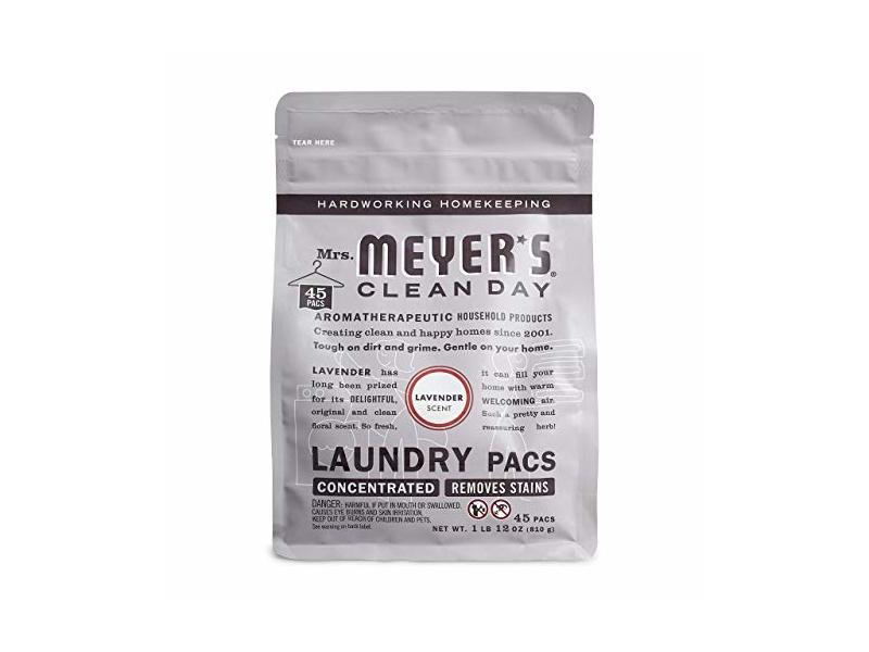 Mrs. Meyer's Laundry Pacs, Lavender, 45 CT