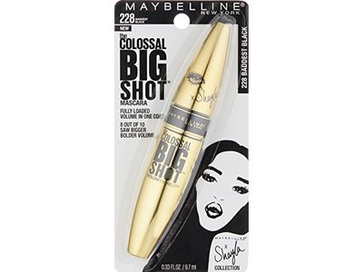 d02b19d71c7 ... Maybelline New York Volum' Express The Colossal Big Shot Mascara X  Shayla, Baddest Black ...