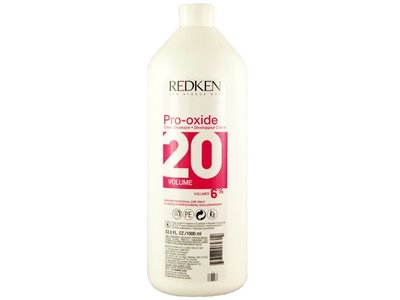 Redken Pro-Oxide Cream Developer 20 Vol 6%, 33.8 oz