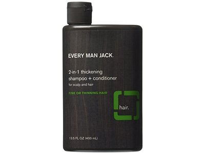 Every Man Jack 2-in-1 Thickening Shampoo plus Conditioner - 13.5 oz
