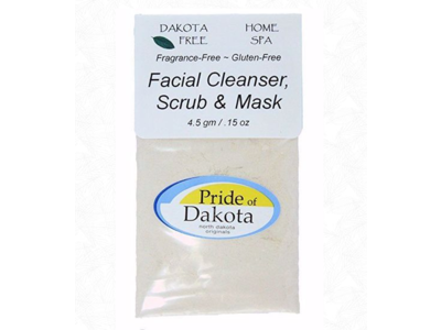 Dakota Free Facial Scrub Cleanser, Scrub & Mask, 4.5 gm single