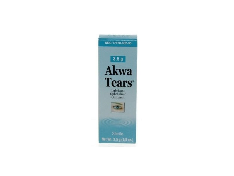 Akwa Artificial Tears Lubricant Ophthalmic Ointment, 3.5 gm