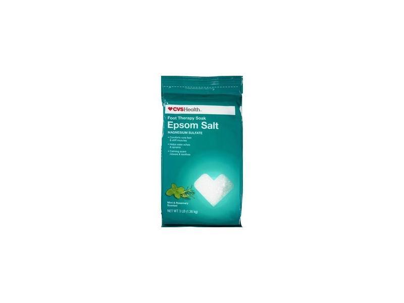 CVS Health Epsom Salt Foot Therapy Soak Mint & Rosemary