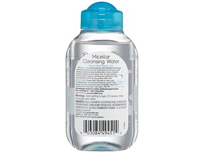 Garnier SkinActive Micellar Cleansing Water All-in-1 Cleanser & Waterproof Makeup Remover, 3.4 Fluid Ounce - Image 3