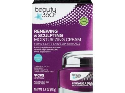 Beauty 360 Renewal Anti-Aging Sculpting Cream Fragrance-Free