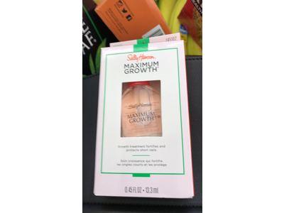 Sally Hansen Maximum Growth Treatment, Clear, 0.45 fl oz (Pack of 2) - Image 3