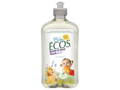 ECOS Baby Ecos Bottle and Dish Wash, Free and Clear Disney, 17 fl oz