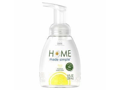 Home Made Simple Foaming Hand Soap, Lemon Scent, 8 fl oz