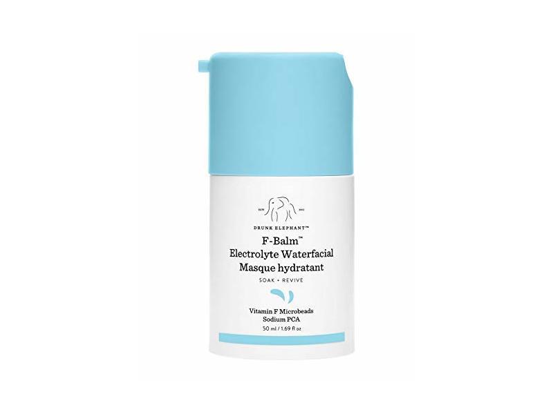 Drunk Elephant F-Balm Electrolyte Waterfacial Masque Hydrant, 1.69 fl oz/ 50 ml
