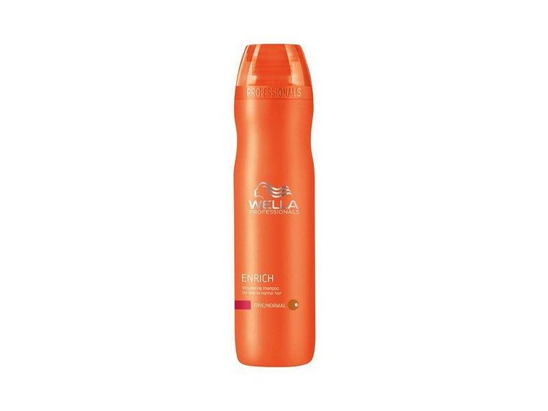 Wella Enrich Volumizing Shampoo for Fine To Normal Hair, 10.1 fl oz