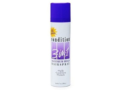 Condition 3 in &1 Maximum Hold Hairspray, 7 oz