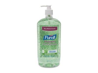 Purell Aloe Skin Care Pump Bottle, 33.8 Fluid Ounce