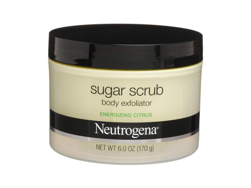 Neutrogena Sugar Scrub Body Exfoliator Energizing Citrus 6 Ounce