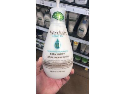 Live Clean Argan Oil Replenishing Body Lotion, 17 Fluid Ounce - Image 6