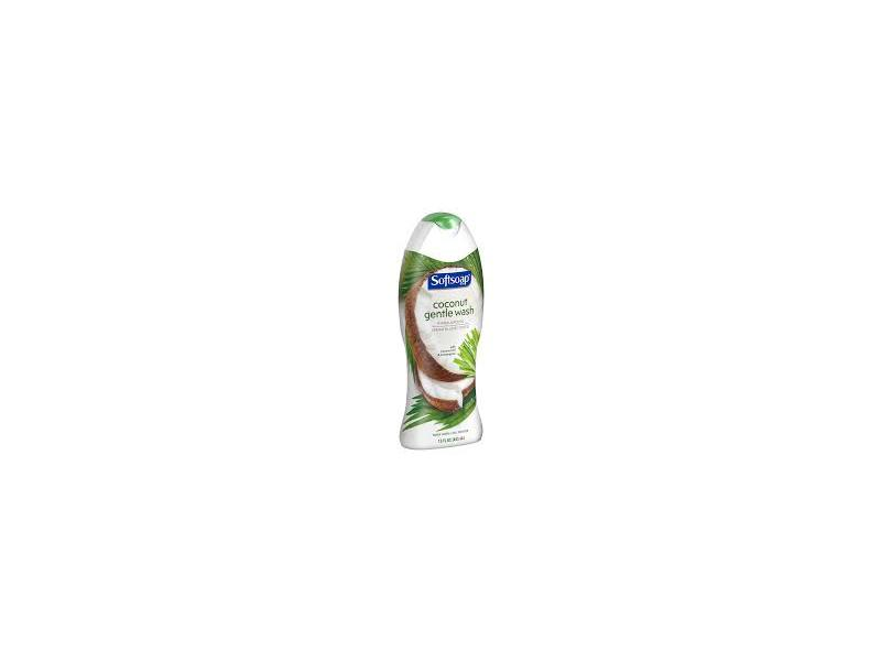 Softsoap Coconut Gentle Wash, 20 fl oz