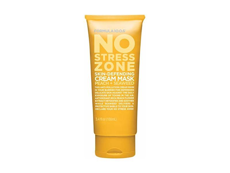 Formula 10.0.6 No Stress Zone Cream Mask, Peach + Seaweed, 3.4 fl oz/100 ml