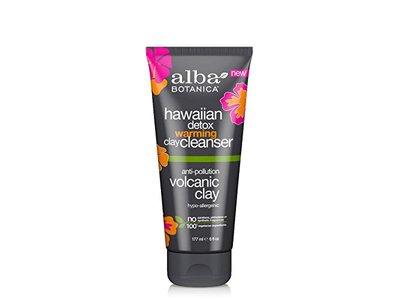 Alba Botanica Hawaiian Detox Warming Clay Cleanser, Volcanic Clay, 6 fl oz