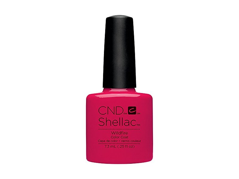 CND Shellac Nail Polish, Wildfire, 0.25 fl. oz. Ingredients and Reviews