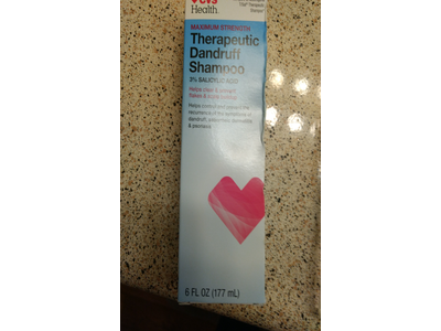 CVS Health Therapeutic Dandruff Shampoo, 6 fl oz