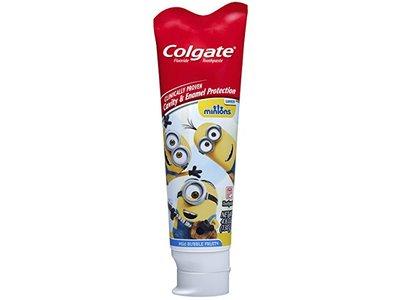 Colgate Kids Minions Toothpaste, Mild Bubble Fruit, 4.6 oz