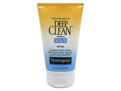 Neutrogena Deep Clean Facial Gentle Scrub, 4.2 Ounce - Image 1