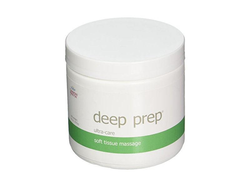 Rolyan Deep Prep Ultra Care Soft Tissue Massage, 15 oz