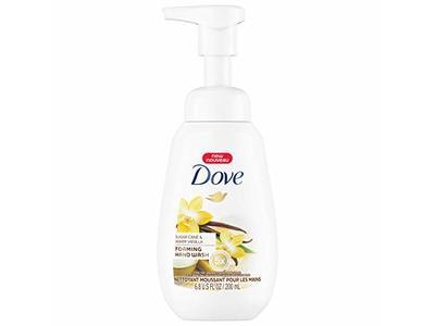 Dove Foaming Hand Wash, Sugar Cane & Warm Vanilla, 6.8 fl oz (Pack of 2)