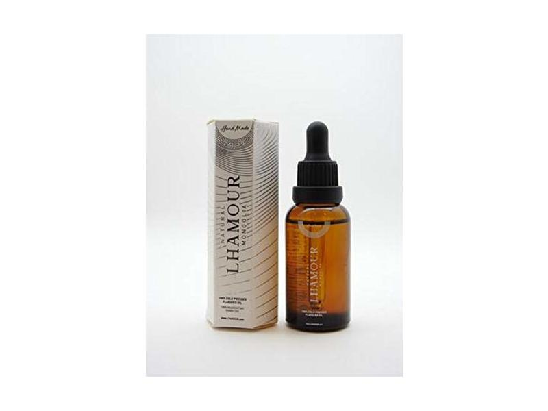 Lhamour Flaxseed Oil, 30 mL