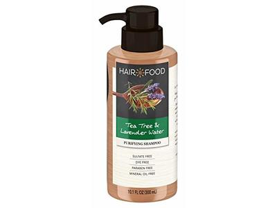 Hair Food Shampoo, Tea Tree & Lavender Water, 10.1 Ounce - Image 1