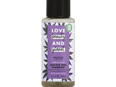 Love Beauty & Planet Soothe & Nourish Shampoo, Hemp Seed Oil & Nana Leaf, 13.5 fl oz