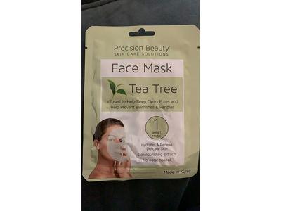 Precision Beauty Tea Tree Face Mask, 1 sheet