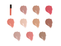 VMV Hypoallergenics Lip Gloss, All Shades, 0.21 oz - Image 2