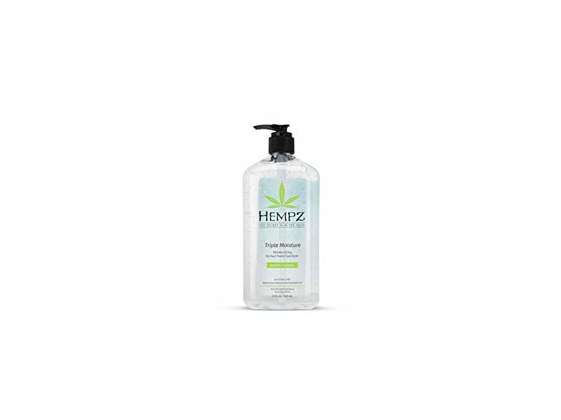 Hempz Triple Moisture Herbal Hand Sanitizer Gel, 21 oz