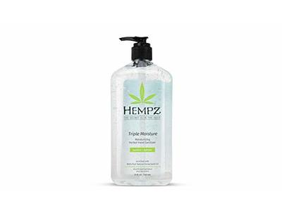Hempz Triple Moisture Herbal Hand Sanitizer Gel, 21 oz