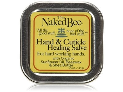 The Naked Bee Hand & Cuticle Healing Salve, 1.5 oz