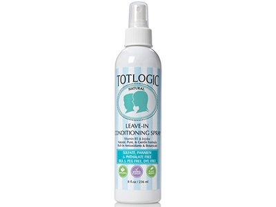 TotLogic Natural Leave-In Conditioning Spray, Original Scent, 8 fl oz