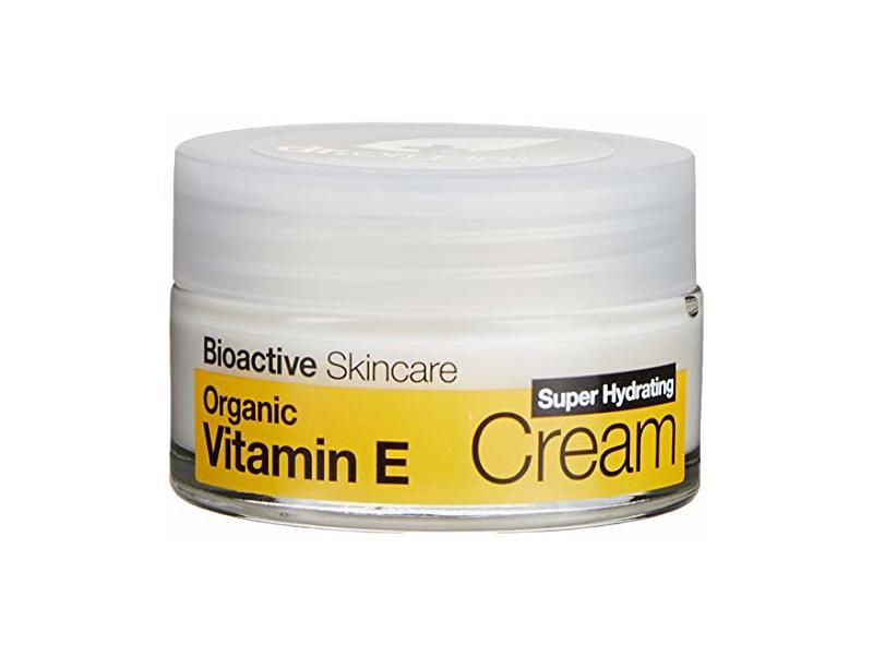 Dr Organic Bioactive Skincare Organic Vitamin E Super Hydrating Cream, 50ml