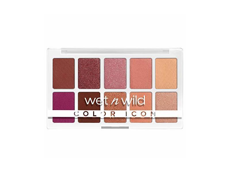 Wet N Wild Color Icon 10-Pan Makeup Palette, Heart & Sol, 0.42 oz / 12 g