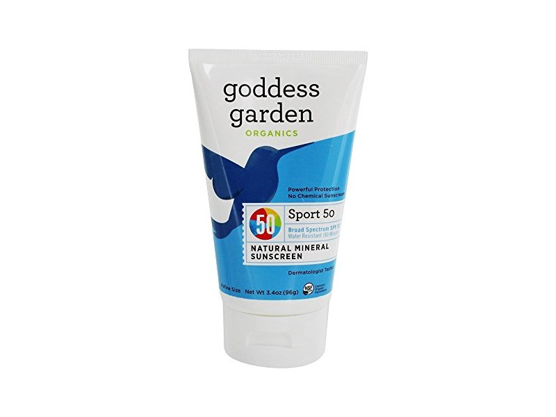 Goddess Garden Sports Natural Mineral Sunscreen Spf 50 3 4 Oz Ingredients And Reviews