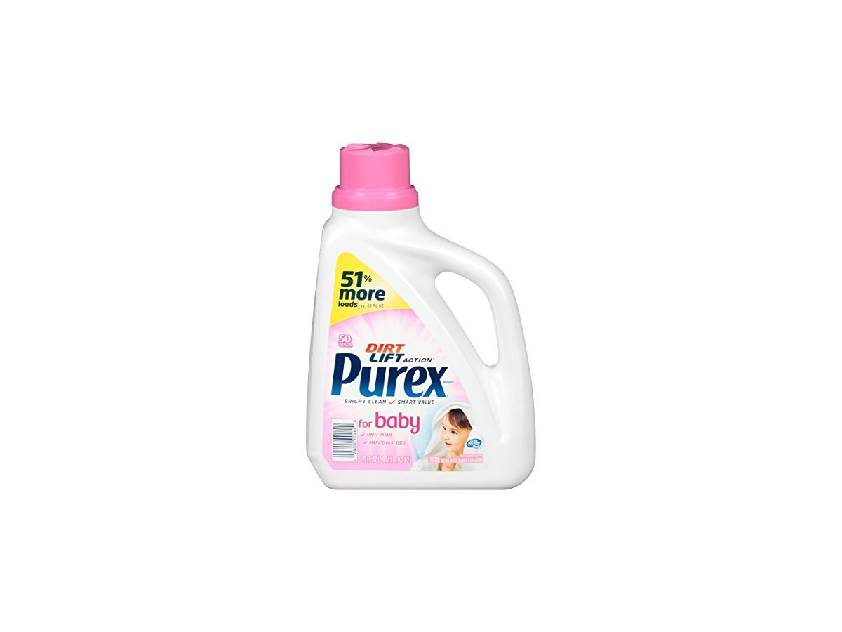 Purex Dirt Lift Action For Baby Laundry Detergent 75 Oz