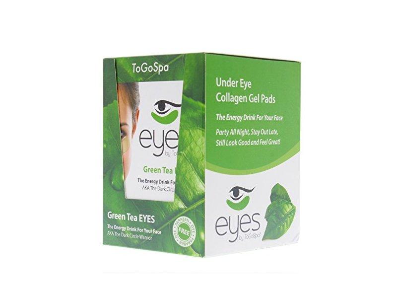 ToGoSpa Under Eye Collagen Gel Pads- 10 Packs - 30 Pair