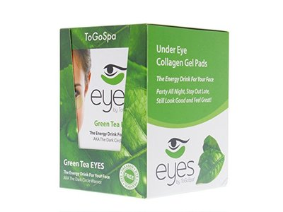ToGoSpa Under Eye Collagen Gel Pads- 10 Packs - 30 Pair