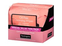 Neutrogena Oil-Free Cleansing Wipes, Pink Grapefruit, 2-pack - Image 5