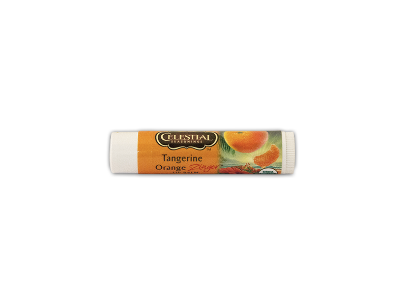 Celestial Seasonings Tangerine Orange Zinger Lip Balm