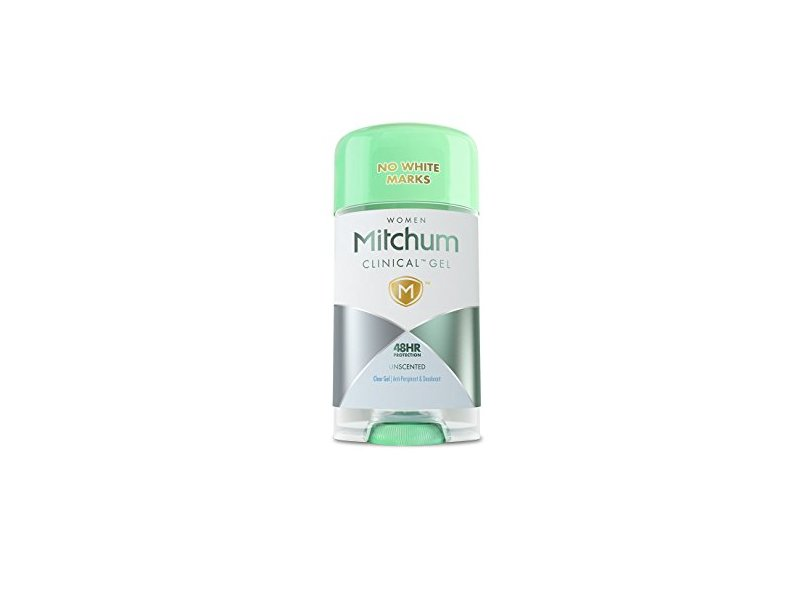 Mitchum Clinical Gel Unscented Deodorant, 2.0 oz